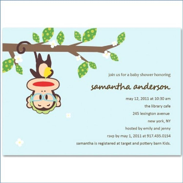 Funny Baby Shower Invitation Wording Boy Invitation Ideas Baby