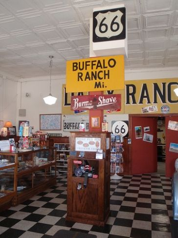 Stop by Afton Station, located along Route 66 in Afton