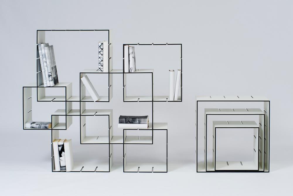 Etagères et bibliothèques modulables - 10 créations à découvrir