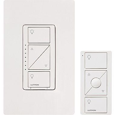 Lutron Caseta Wireless Dimmer Kit White Staples Lutron Home Automation Dimmer