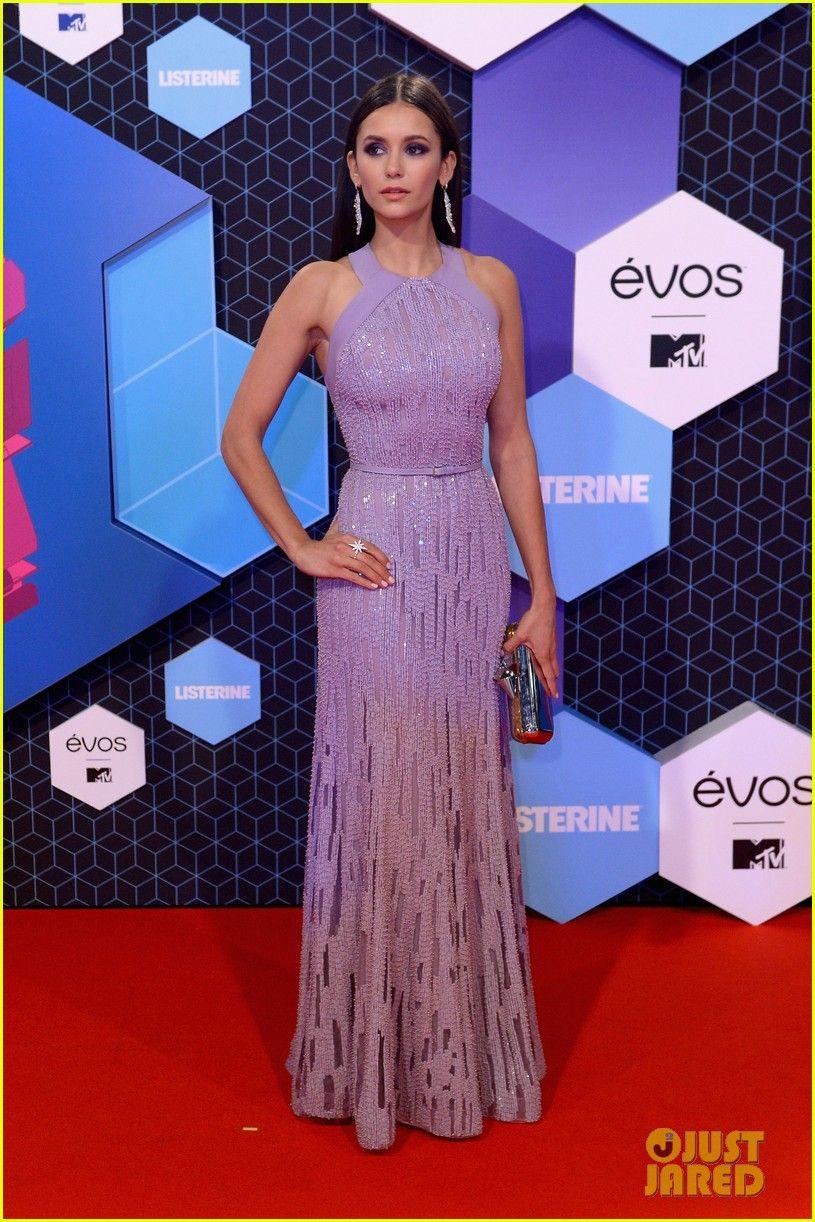 Jaden Smith & Nina Dobrev Arrive for MTV EMAs 2016 | nina dobrev ...
