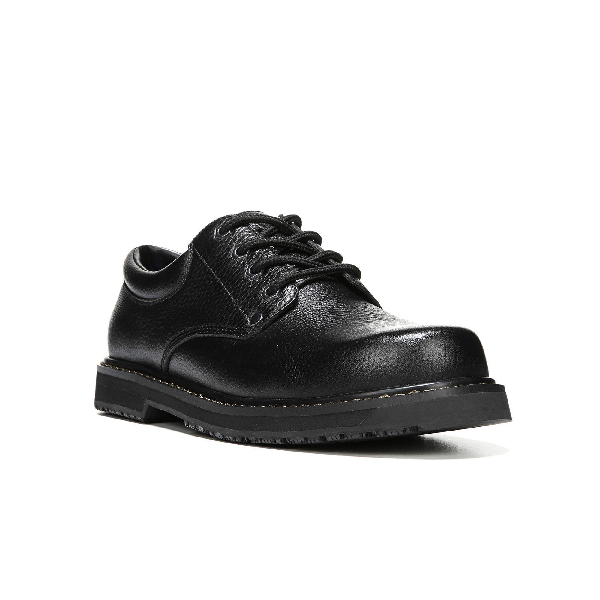 Dr. Scholl's Harrington II Men's Work Shoes, Size: medium (7.5), Black, Durable