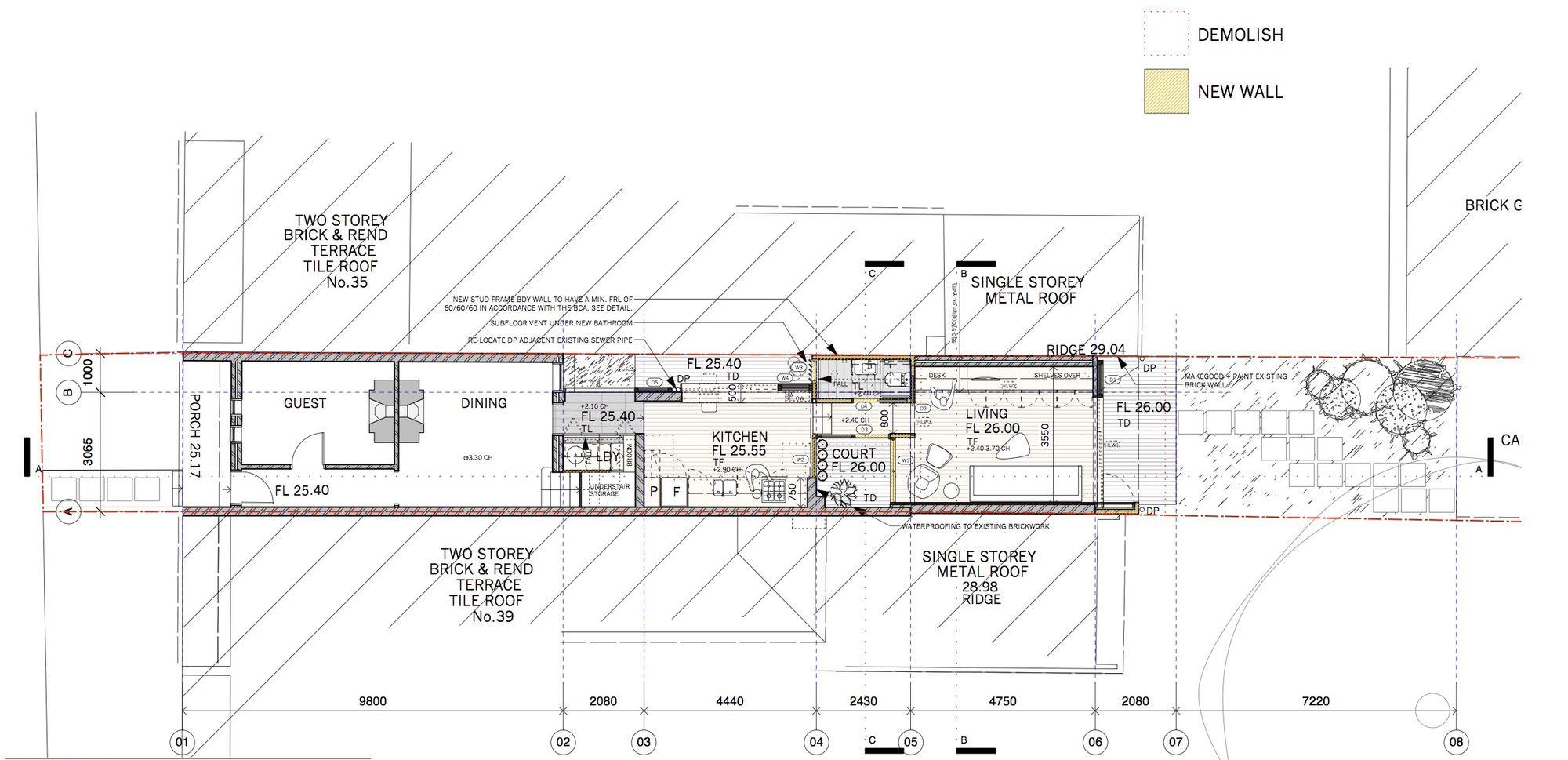 narrow sydney terrace sydney architect - Google Search | Terrace ...