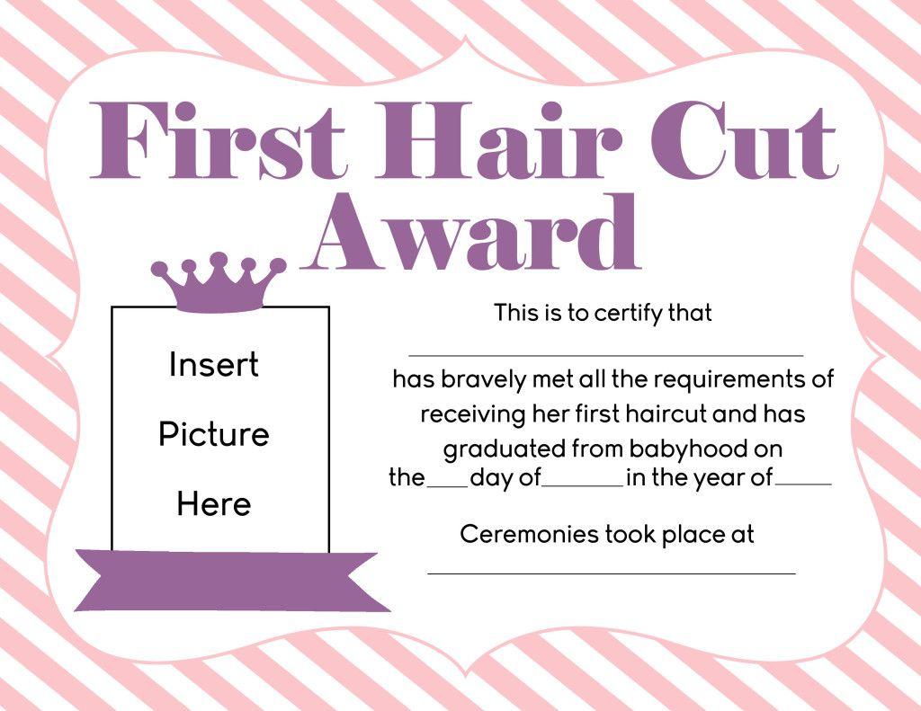 Hair Worksheet