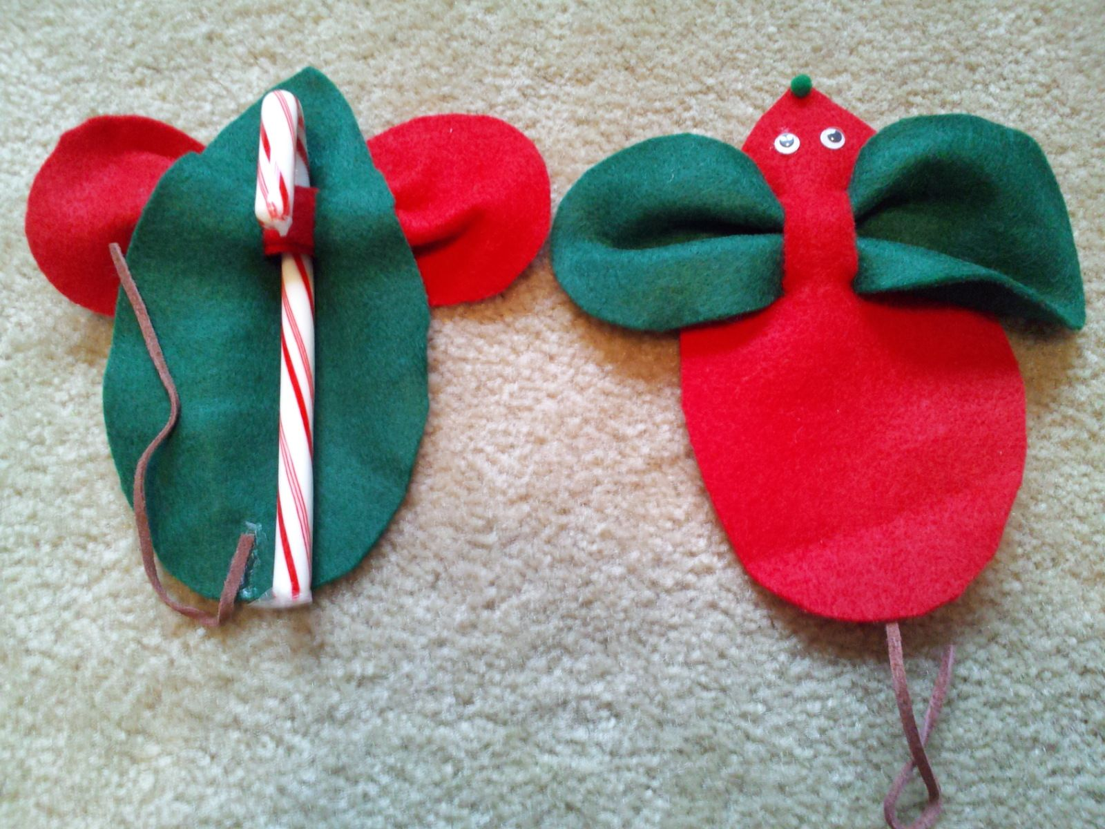 Easy and cute craft to hang on your tree.