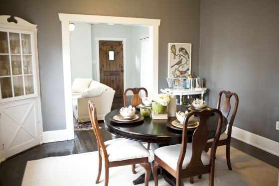 Dining Room   Benjamin Moore Chelsea Gray Awesome Ideas