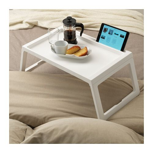 Groovy Ikea Klipsk White Bed Tray In 2019 Bed Tray Table Bed Uwap Interior Chair Design Uwaporg