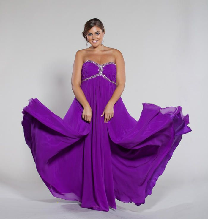 Best Purple Plus Size Evening Dresses Gallery - Mikejaninesmith.us ...