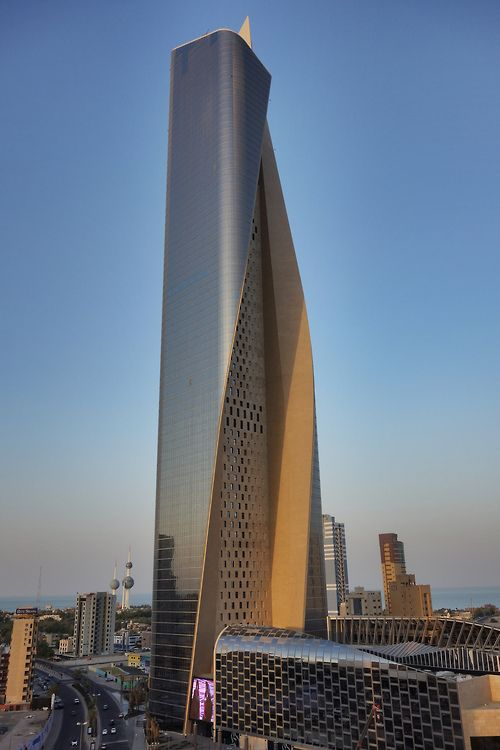 Al Hamra Tower Kuwait By Robef