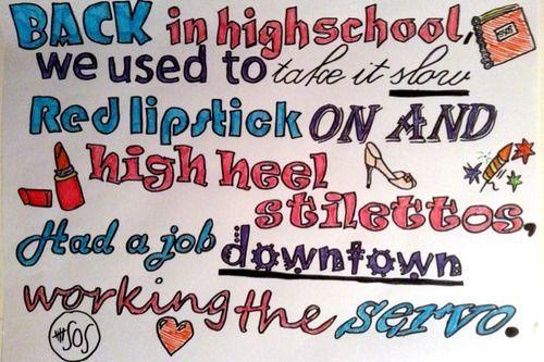 Song Lyrics Drawings Tumblr 5sos