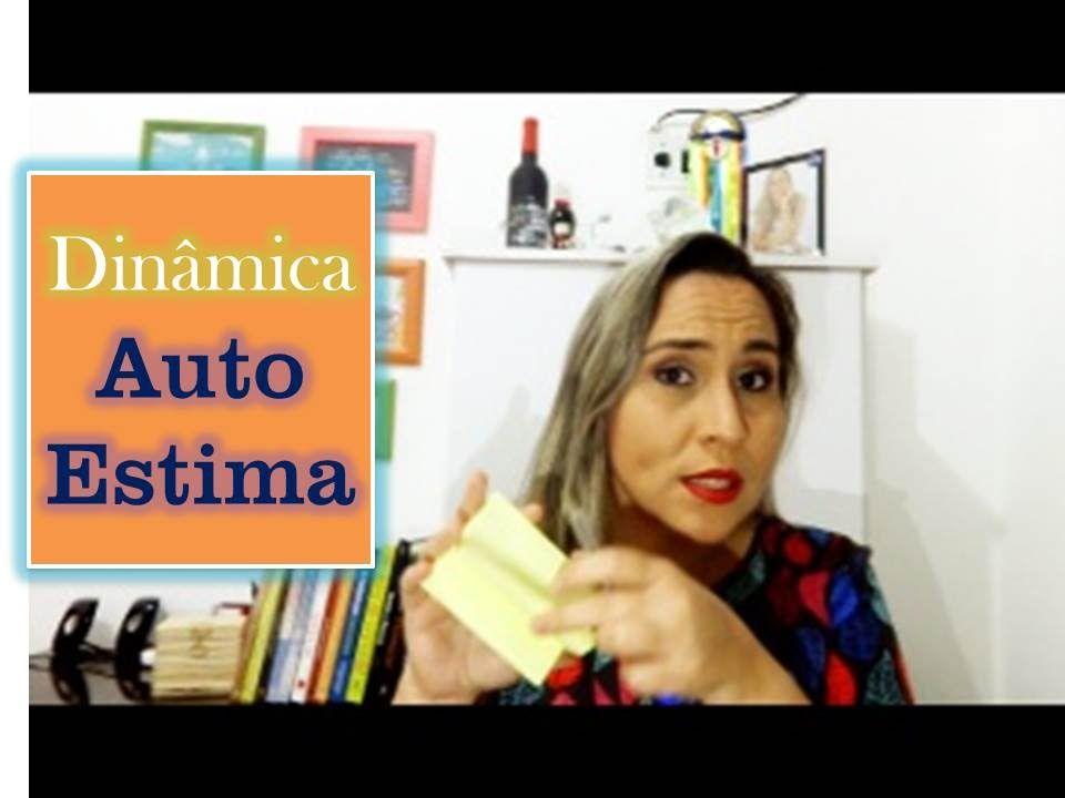 """Dinâmica de Auto estima """"nas costas"""" - Renata Melo"""