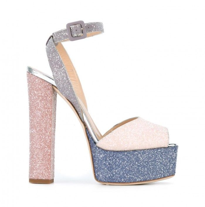 da81a39e94897 GIUSEPPE ZANOTTI DESIGN 'Betty Glitter' sandals | Women's fashion ...