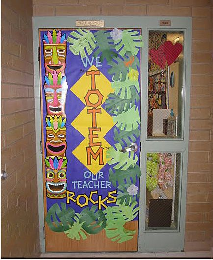 Classroom Luau Ideas ~ Great luau themed door school stuff pinterest