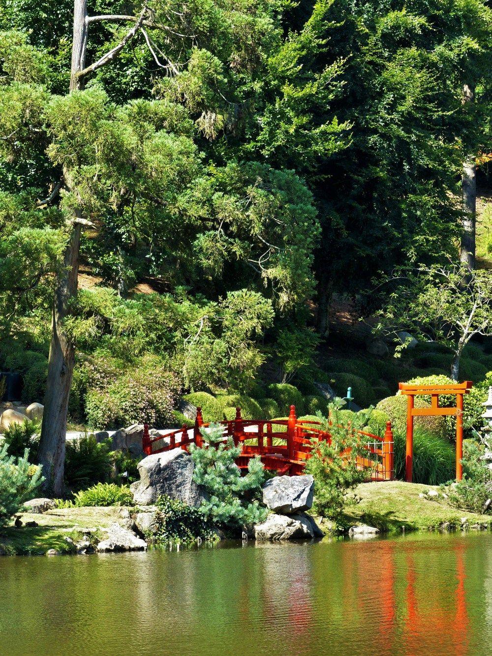 En Vadrouille Le Parc Oriental De Maulevrier Cascade De Jardin