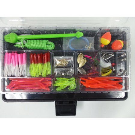 Trout Complete Angler S Fishing Trip Tackle Starter Kit Walmart Com Fishing Trip Trout Trout Fishing