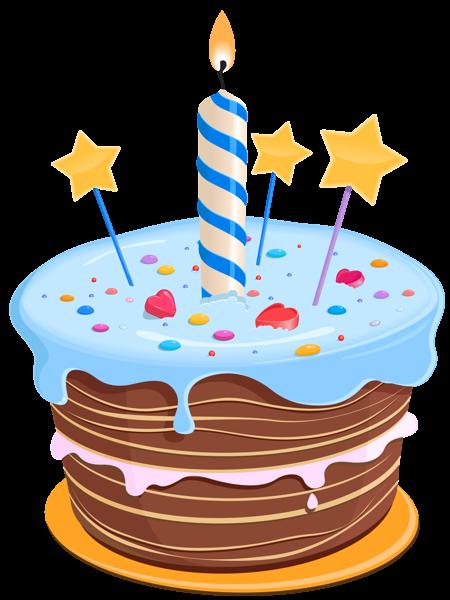 Birthday Cake With Stars Png Clipart Birthday Cake Illustration Cartoon Birthday Cake Art Birthday Cake