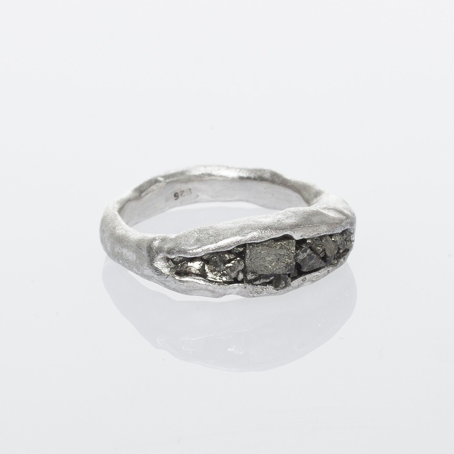 Linda Friedrichs Magical Pyrite Silver Ring Just Luv'd on @Luvocracy |