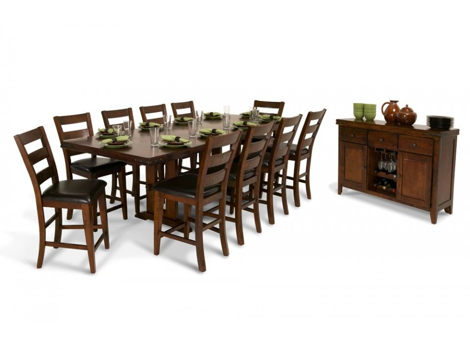 Enormous pub 12 piece dining set bobs discount furniture enormous pub 12 piece dining set bobs discount furniture workwithnaturefo
