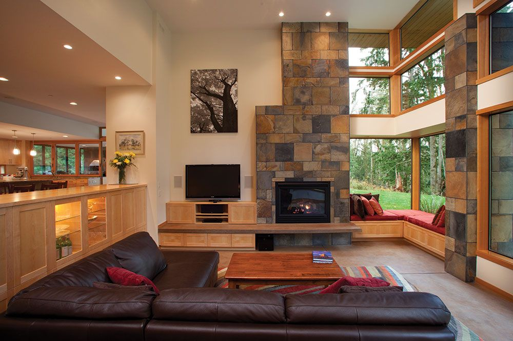 Pacific Northwest Style Home One With Nature The 16