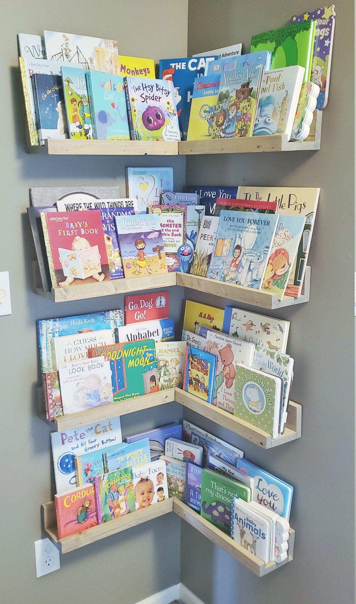 Kid Wall Bookshelf
