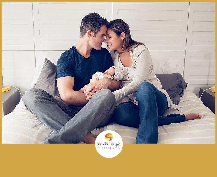 Sylvia Borgo Photography:  Gorgeous family welcoming new baby | La Jolla Newborn Photography