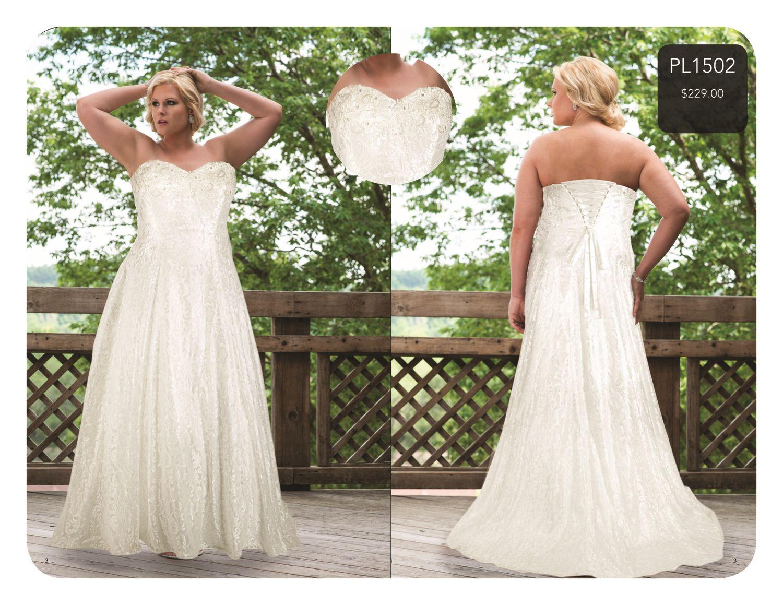 Plus Size Bridal with Sydney's Closet SlimmingBodyShapers