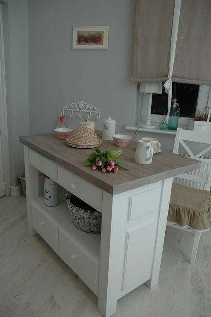 Prowansja Wyspa Kuchenna Rustic Home Shabby 3385963015 Oficjalne Archiwum Allegro