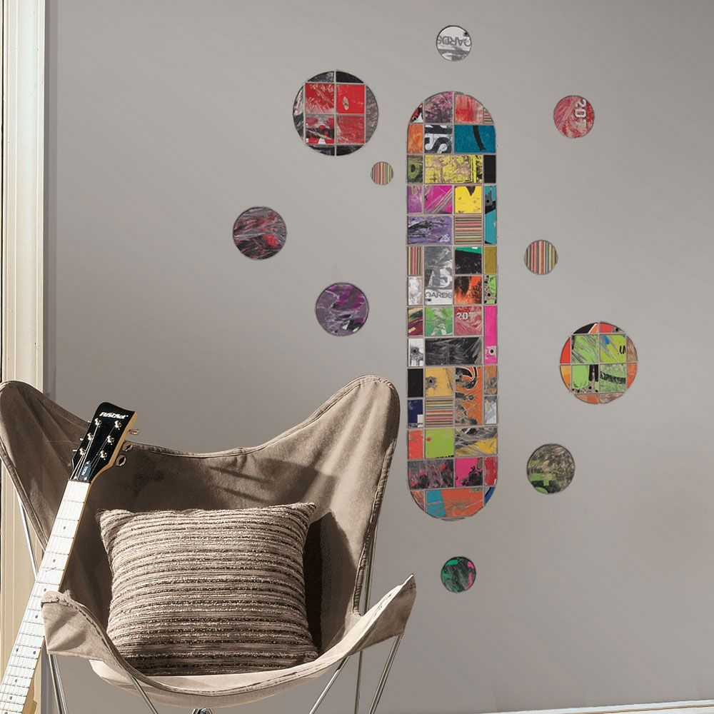 Art Of Board Skateboard Wall Accents Pinterest Wall Accents