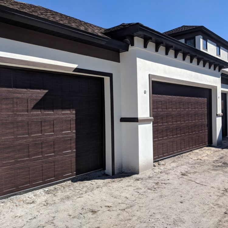 C H I Stamped Shaker Garage Door Garage Doors Curb Appeal Overhead Door