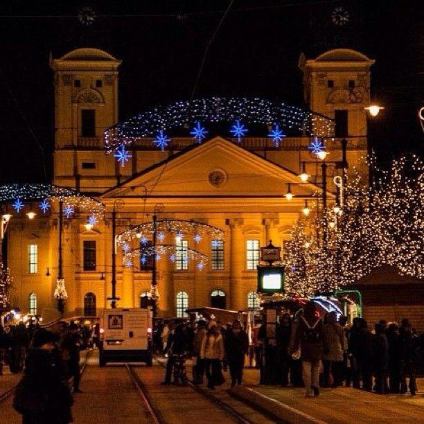 Christmas in Debrecen (pr. deb-re-tsen) #Hungary #xmas