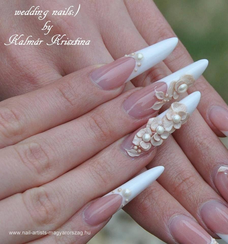Resultado de imagen para diseños de uñas para novias | uñas ...