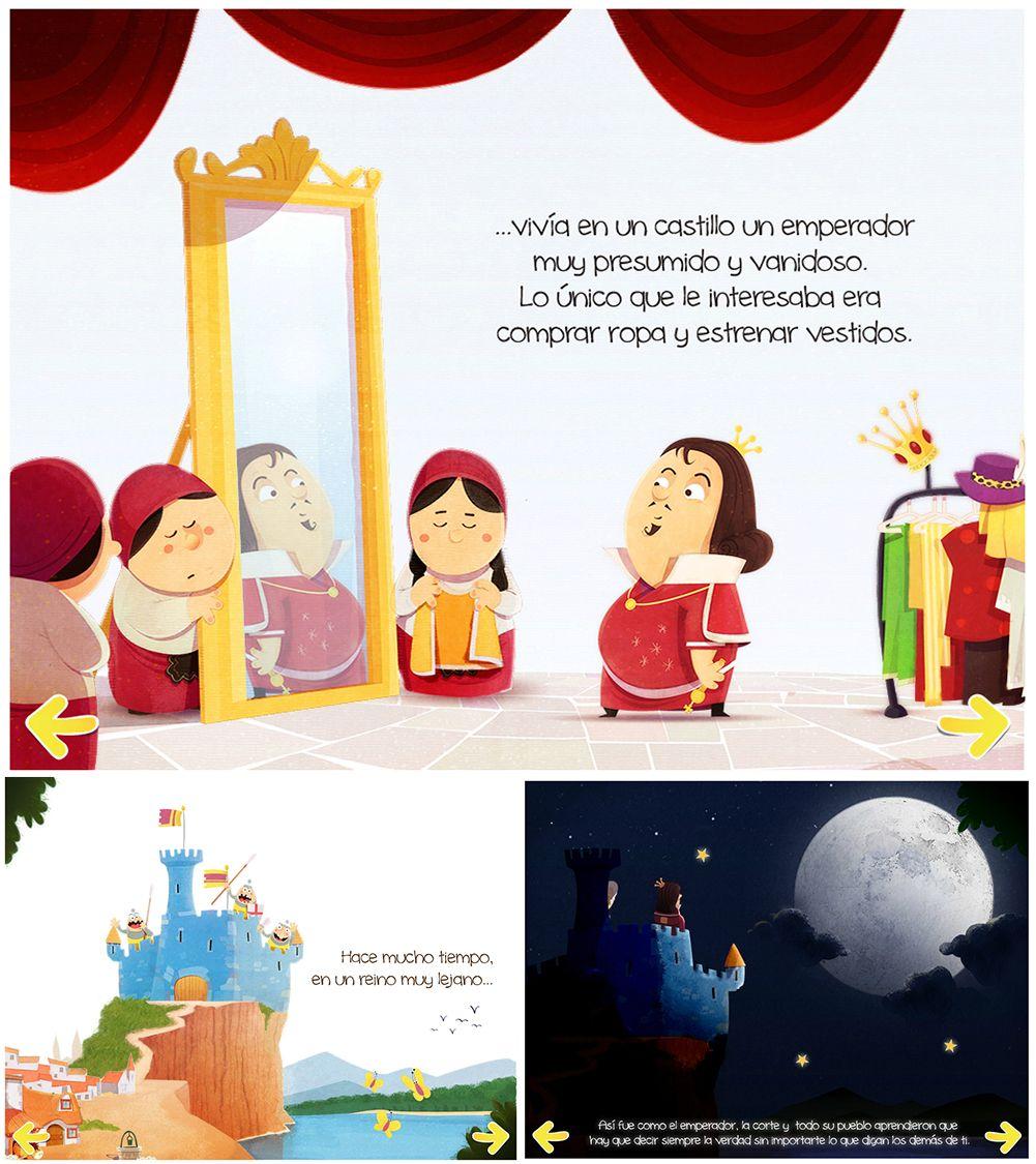El Traje Nuevo Del Emperador Un Clasico De 18 Paginas Dibujos Emperador Castillos