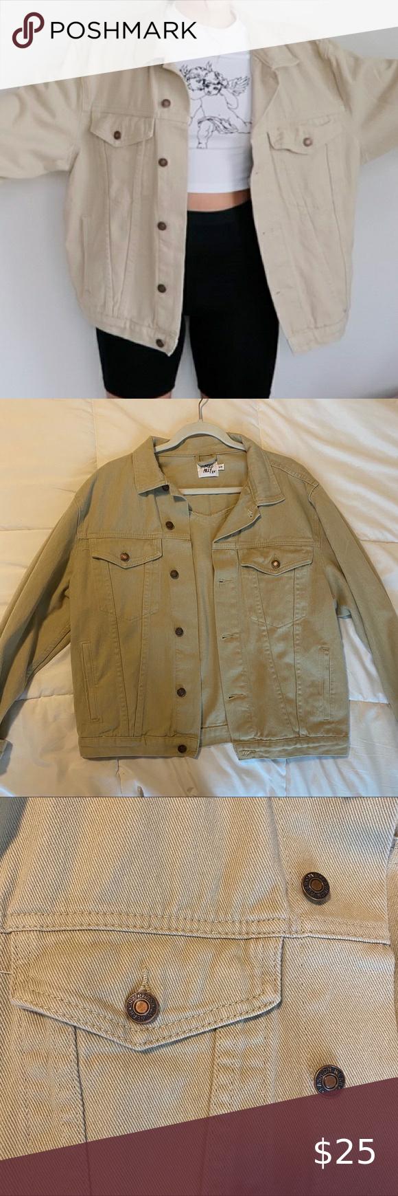 Beige Jean Jacket Beige Jeans Jean Jacket Jackets [ 1740 x 580 Pixel ]