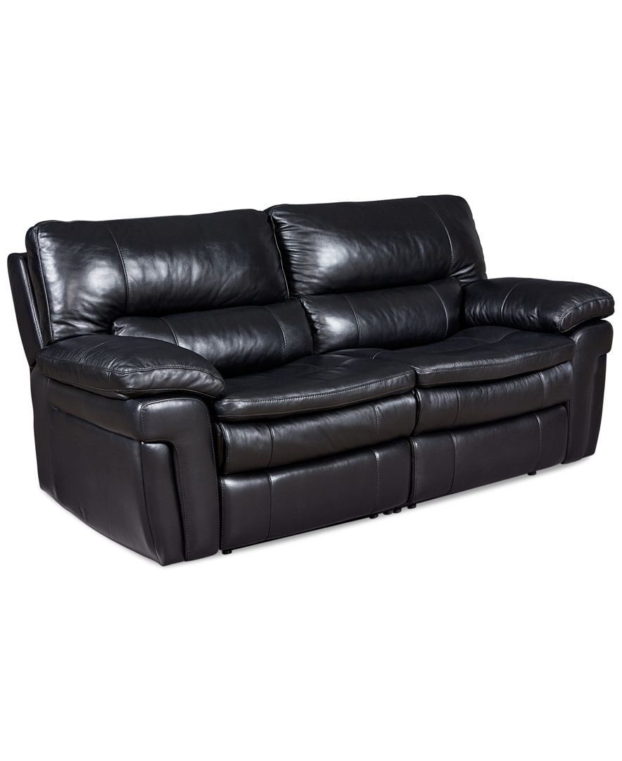 Zander Bonded Leather Power Reclining Sofa Review Www
