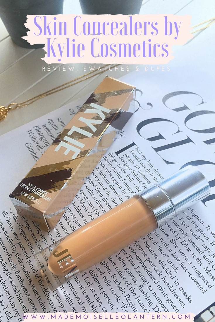Skin Concealers by Kylie Cosmetics Review, Swatches