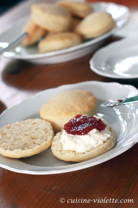 einfache buttermilch scones lebensmittel essen
