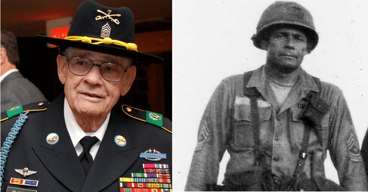We Were Soldiers: Sergeant Major Basil L. Plumley – Veteran of WWII, Korea & Vietnam