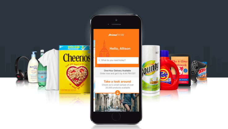 Amazon Expands Prime Now One-Hour Delivery To Dallas, Now Covering 4 ... - TechCrunch