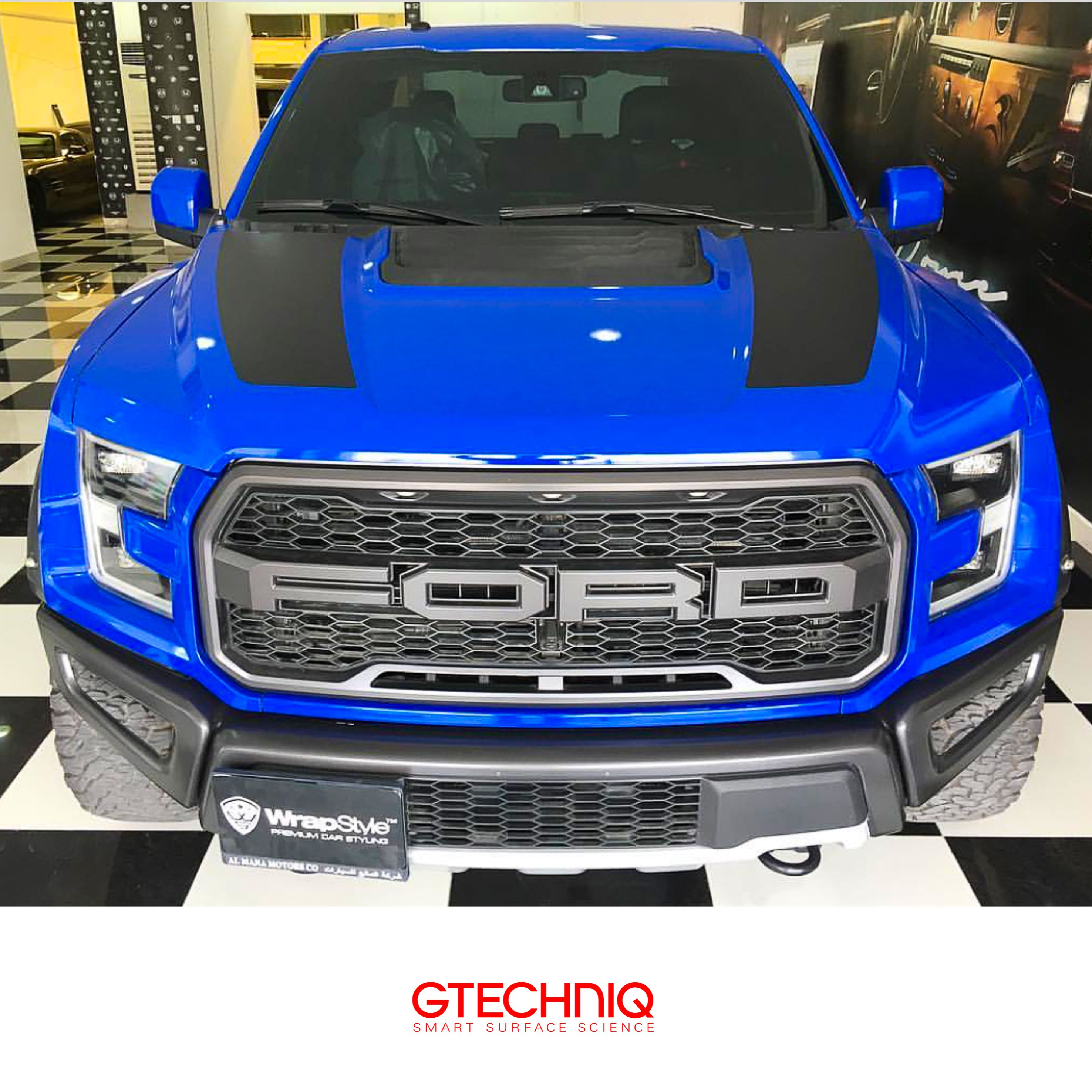 Ford F 150 Raptor Wrapped And Then Protected By Gtechniq And Our