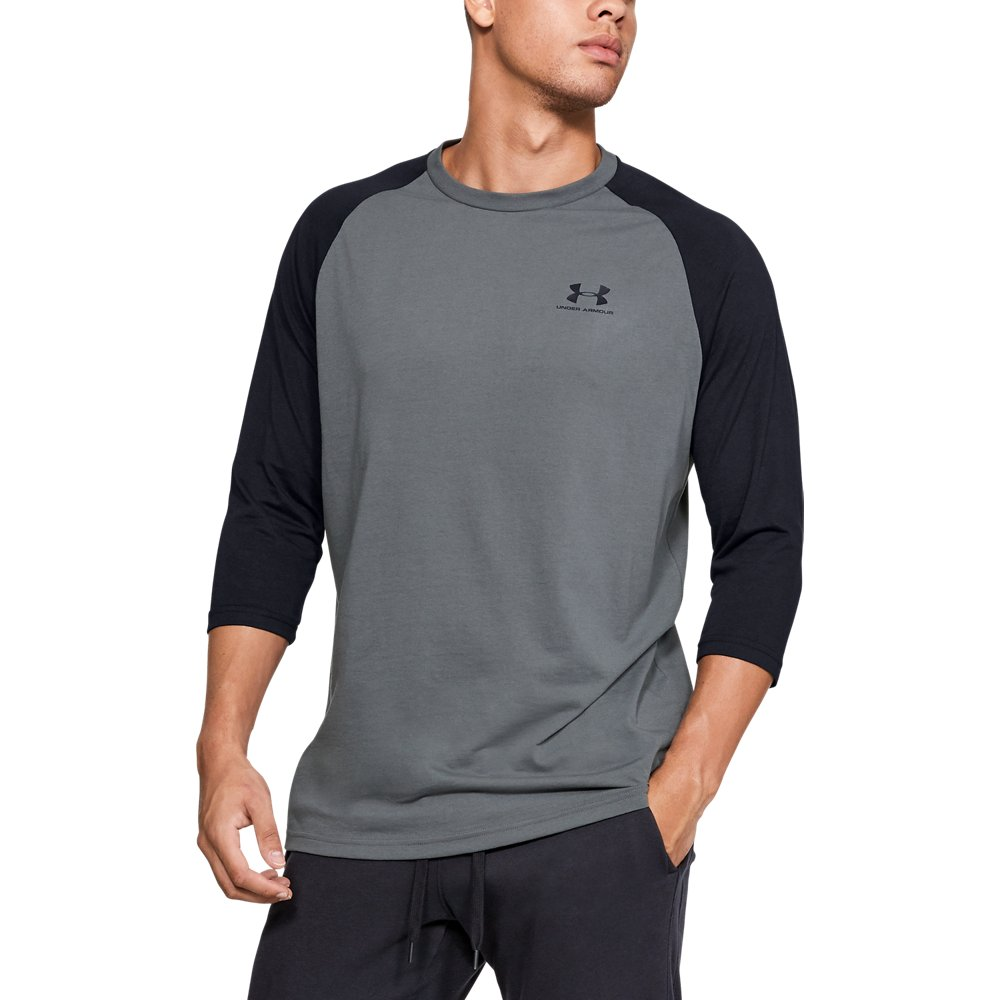 Herren UA Sportstyle Linke Brust ¾ T-Shirt | Under Armour US