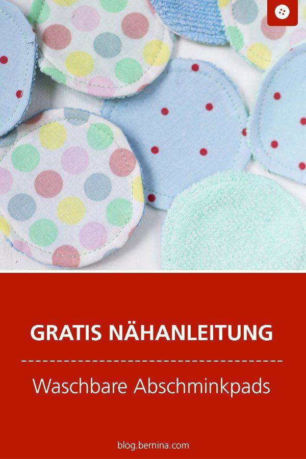 Photo of Nähanleitung: wiederverwendbare Abschminkpads » BERNINA Blog