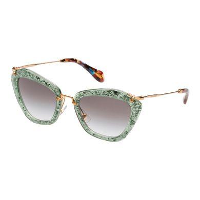 Miu Miu e-store · Eyewear · Acetate · Sunglasses SMU10N_ETKA_F01E0 Noir $415