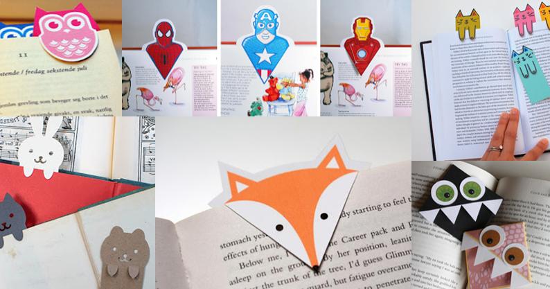 10 id es de marque page fabriquer soi m me 10 book marks art craft for kids pinterest. Black Bedroom Furniture Sets. Home Design Ideas