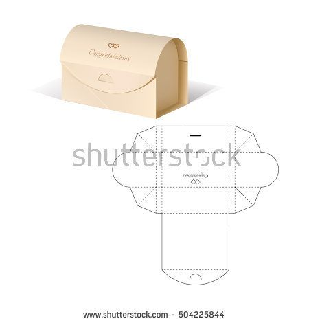 Retail box with blueprint template packaging die cut forms retail box with blueprint template buy this stock vector on shutterstock find other images malvernweather Choice Image