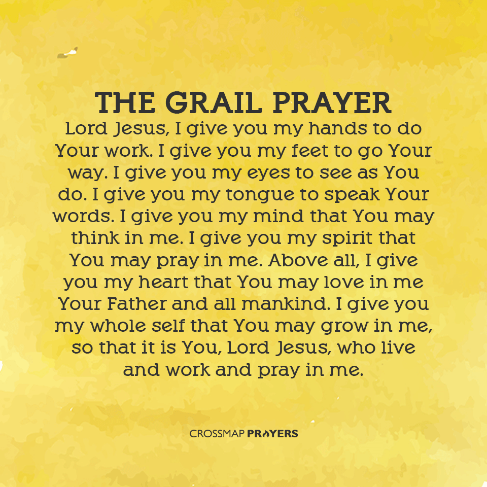 The Grail Prayer Prayers You Are The Father Your Word