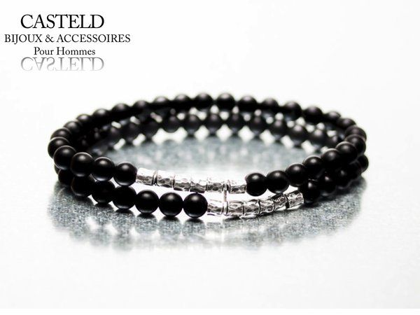 bracelet perle homme bijouterie