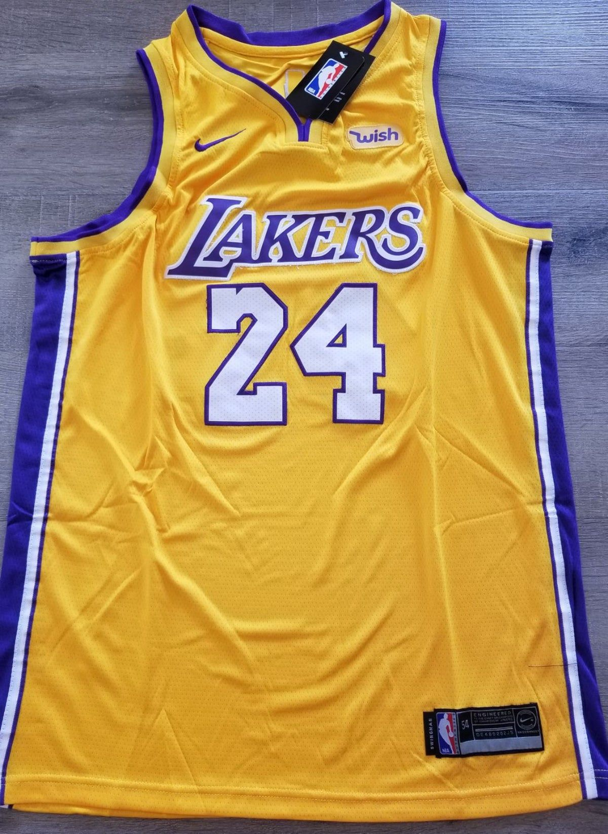 Lakers #24 Bryant mens xxl Jersey in 2021 | Jersey outfit, Lakers ...
