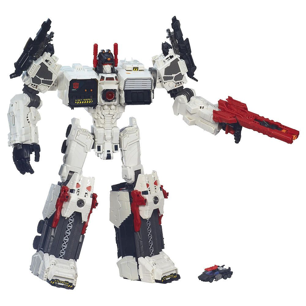 Transformers Generations Titan Class Metroplex with Autobot Scamper ...