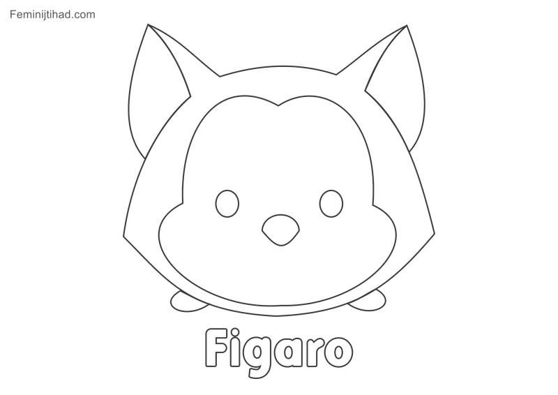 Cute Tsum Tsum Coloring Pages In 2020 Tsum Tsum Coloring Pages Coloring Pictures Disney Coloring Pages