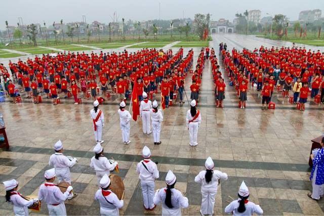 Áo cờ đỏ sao vàng trường tiểu học lê lợi - Hình 5